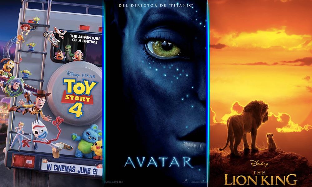 Calendario de estrenos de Disney hasta 2022