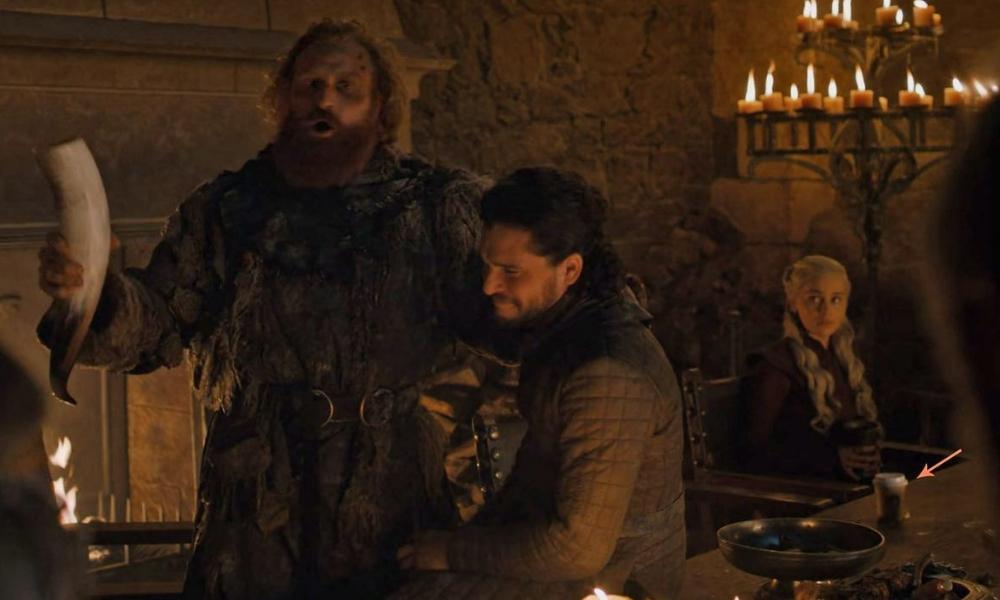 HBO eliminó vaso de café en escena de GOT