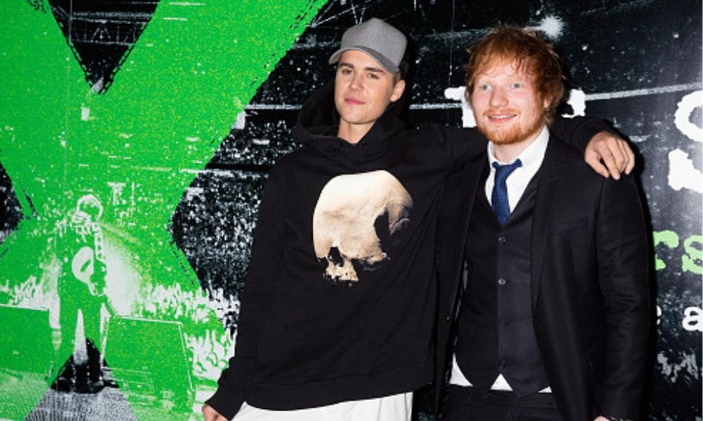 dueto de Justin Bieber y Ed Sheeran