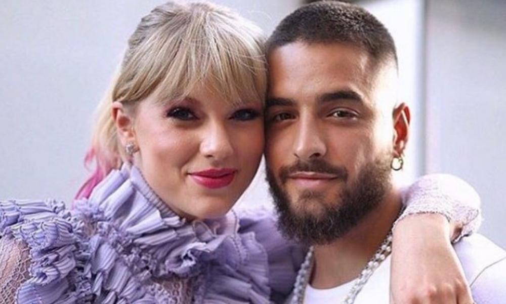 Piden a Taylor Swift no hacer dueto con Maluma