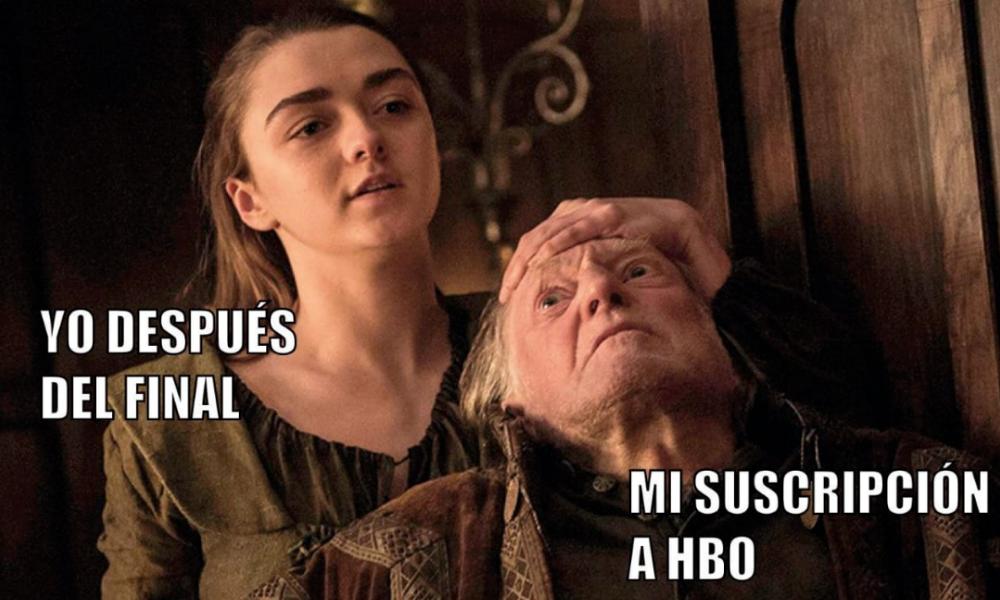 Memes del final de 'Game of Thrones'