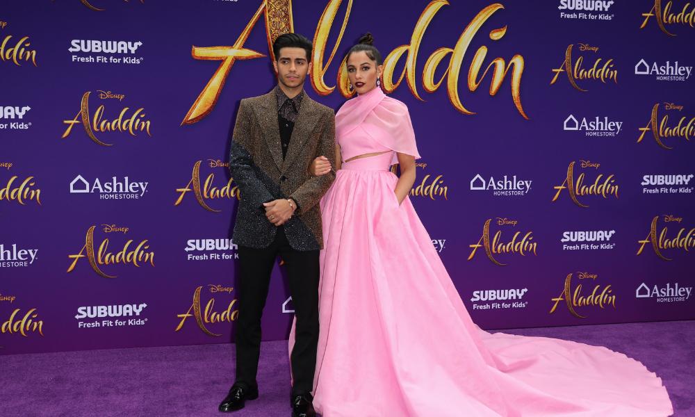 Alfombra morada de 'Aladdin'