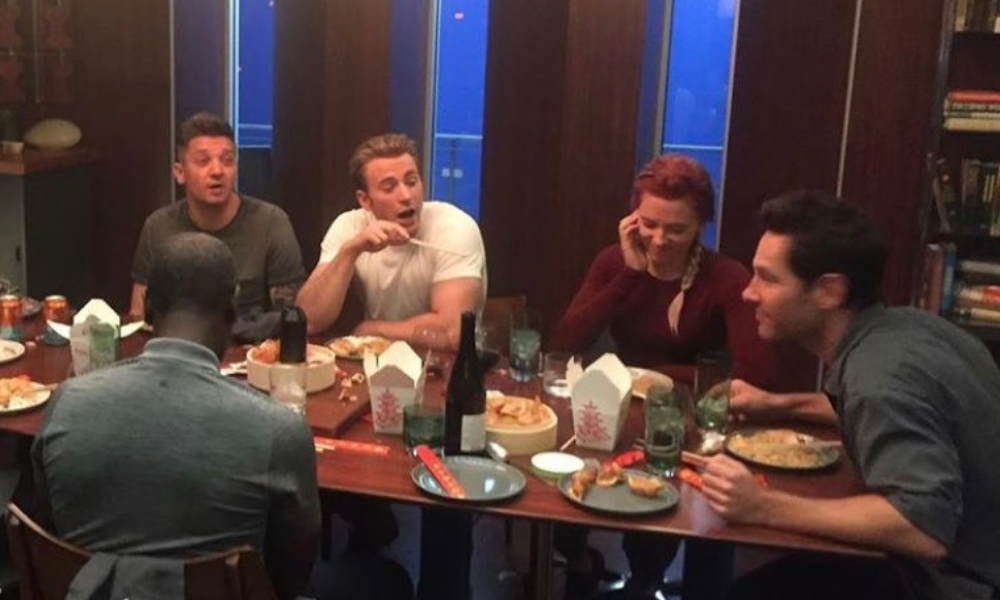 foto de inédita de 'Avengers: Endgame'