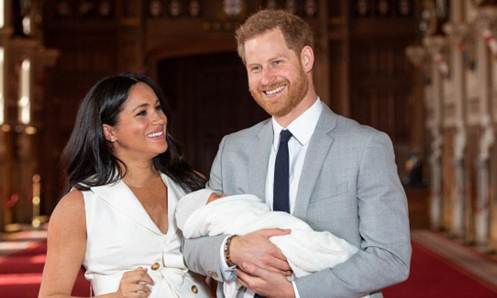 hijo del Príncipe Harry y Meghan Markle