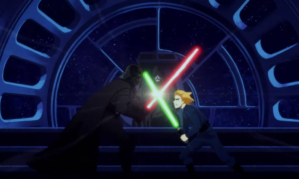 corto animado de 'Star Wars'