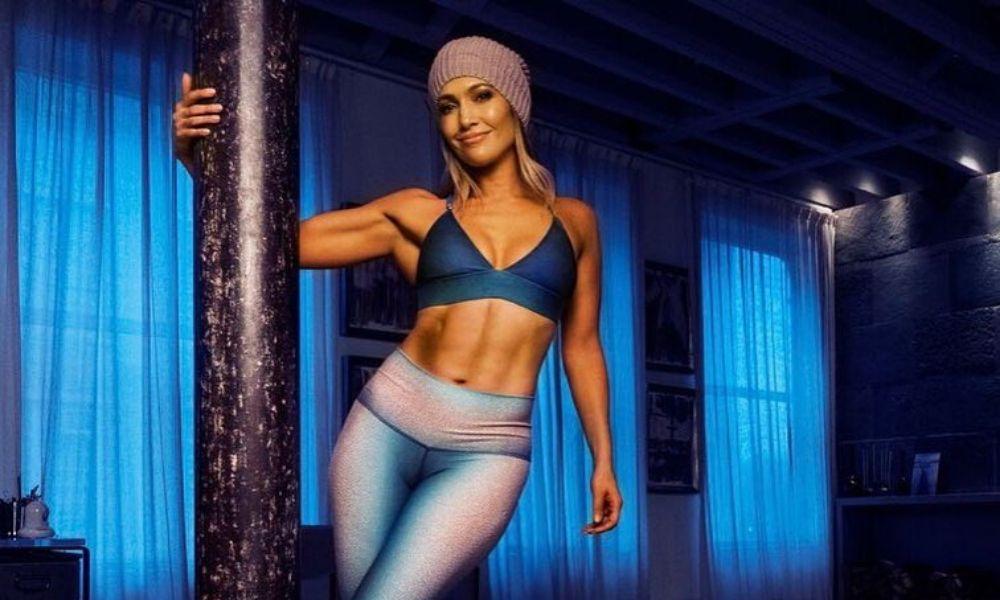 Jennifer Lopez entrenó