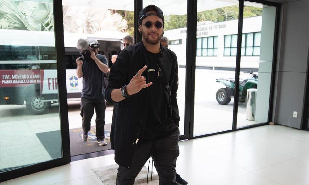 Video de la presunta agresión de Neymar
