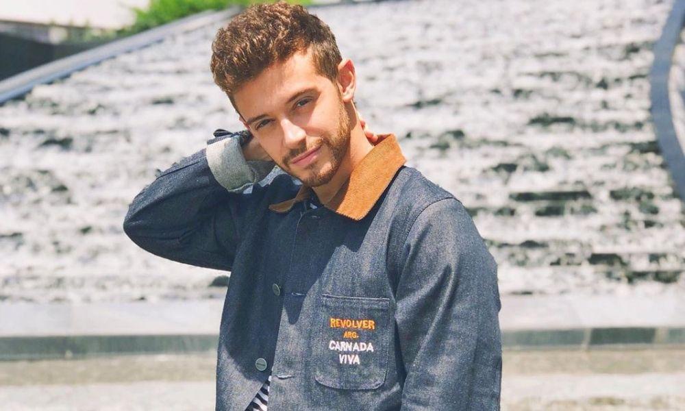 Ruggero Pasquarelli lanzó su primer sencillo