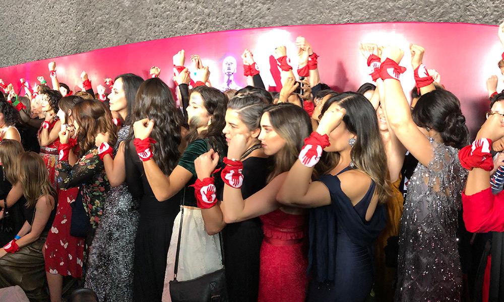Actrices mexicanas presentaron #YaEsHora