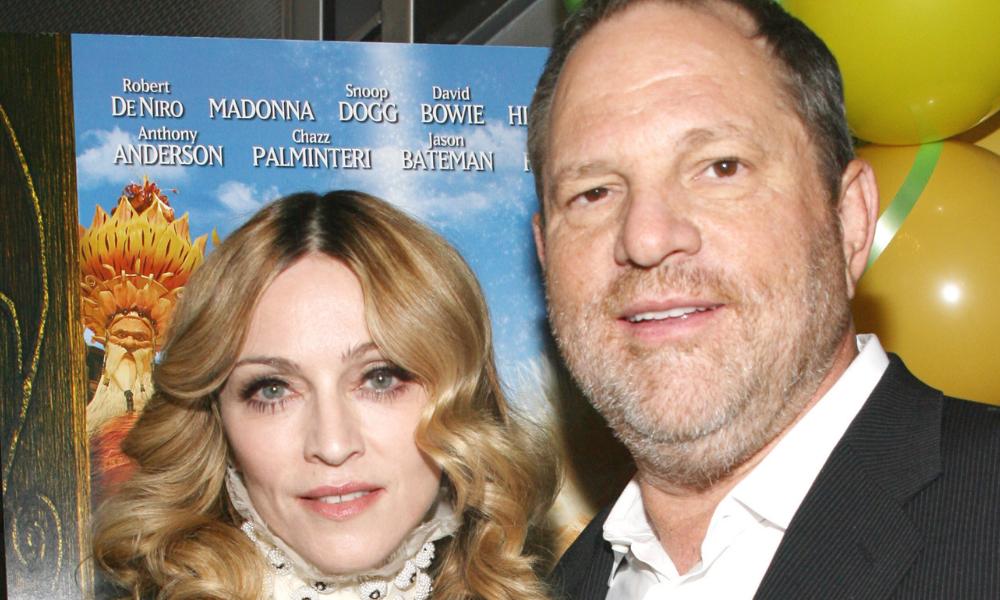 Madonna denunció a Harvey Weinstein
