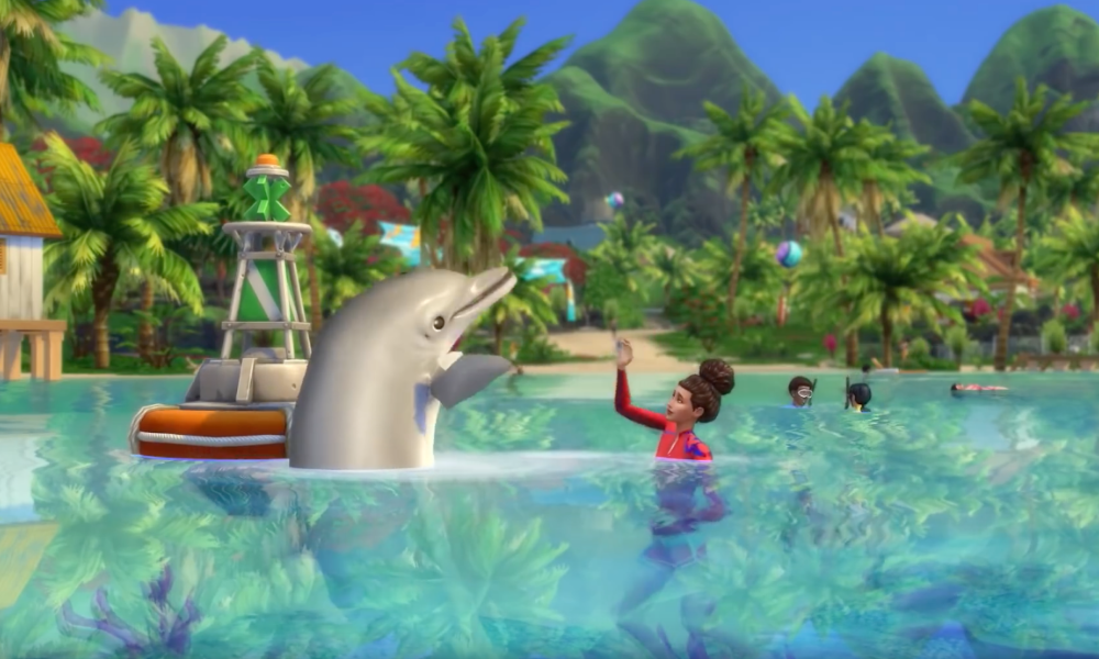 'The Sims 4: Island Living'