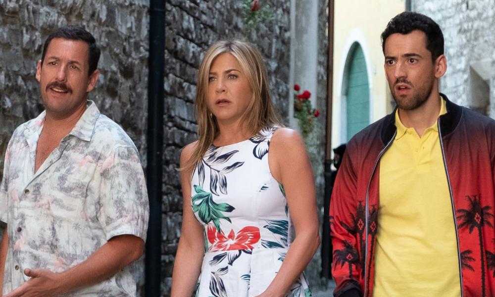 'Murder Mystery' rompió récord en Netflix