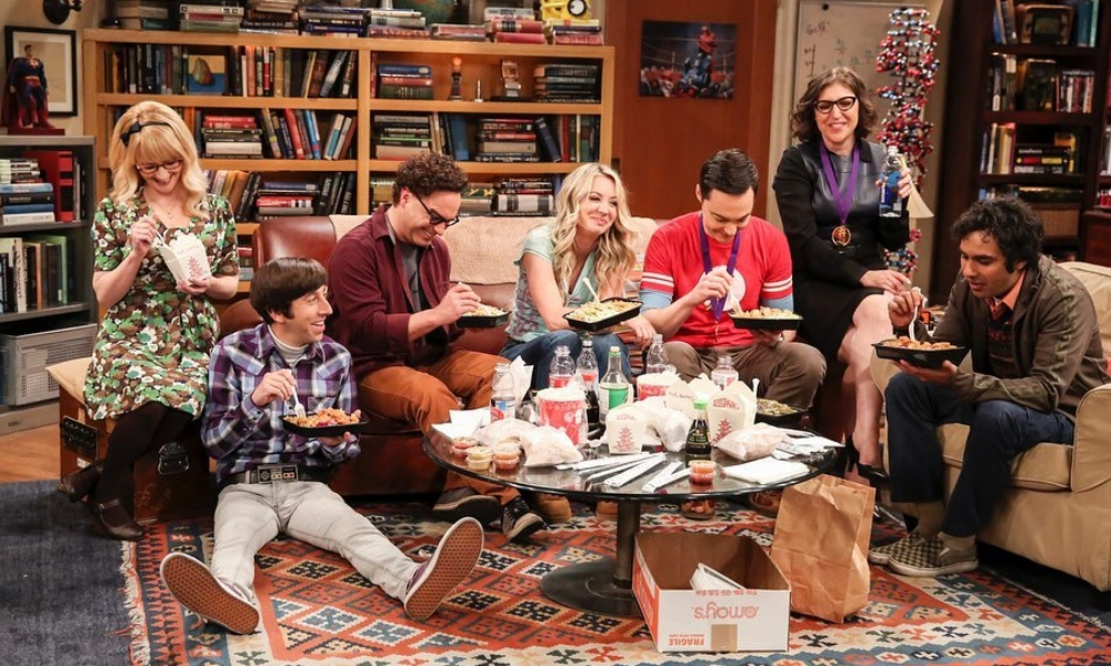 protagonistas de 'The Big Bang Theory'