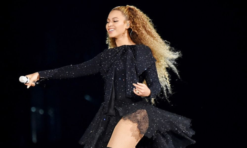 Beyoncé al interpretar a 'Nala' en 'The Lion King'