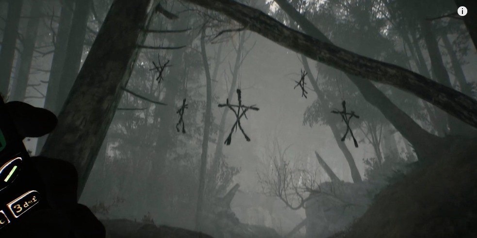 Gameplay del videojuego de 'Blair Witch'