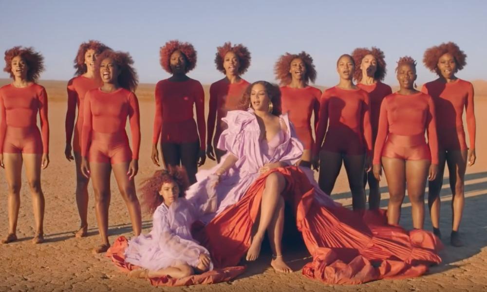 Beyoncé y su hija protagonizan el video de 'Spirit'