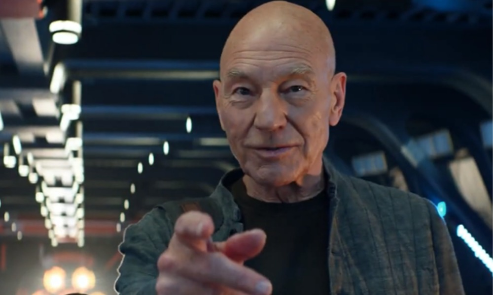 Patrick Stewart presentó en nuevo Star Trek