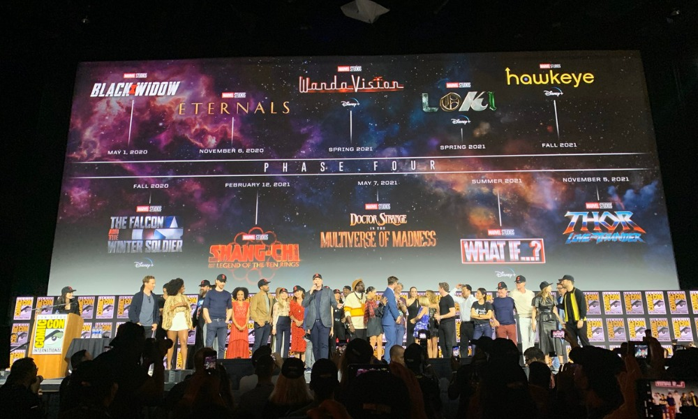 Marvel en la Comic-Con 2019
