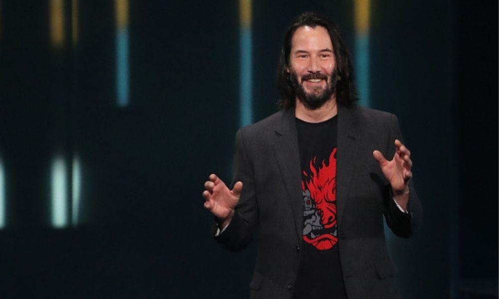 Keanu Reeves afeitó su barba para filmar