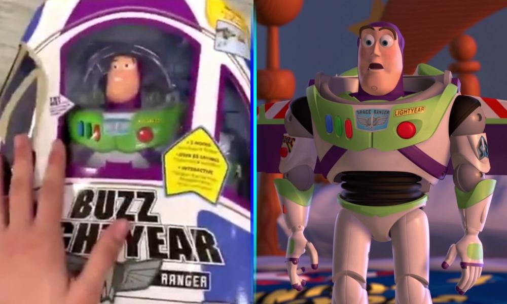 """Video de 'Buzz Lightyear' con """"vida"""""""