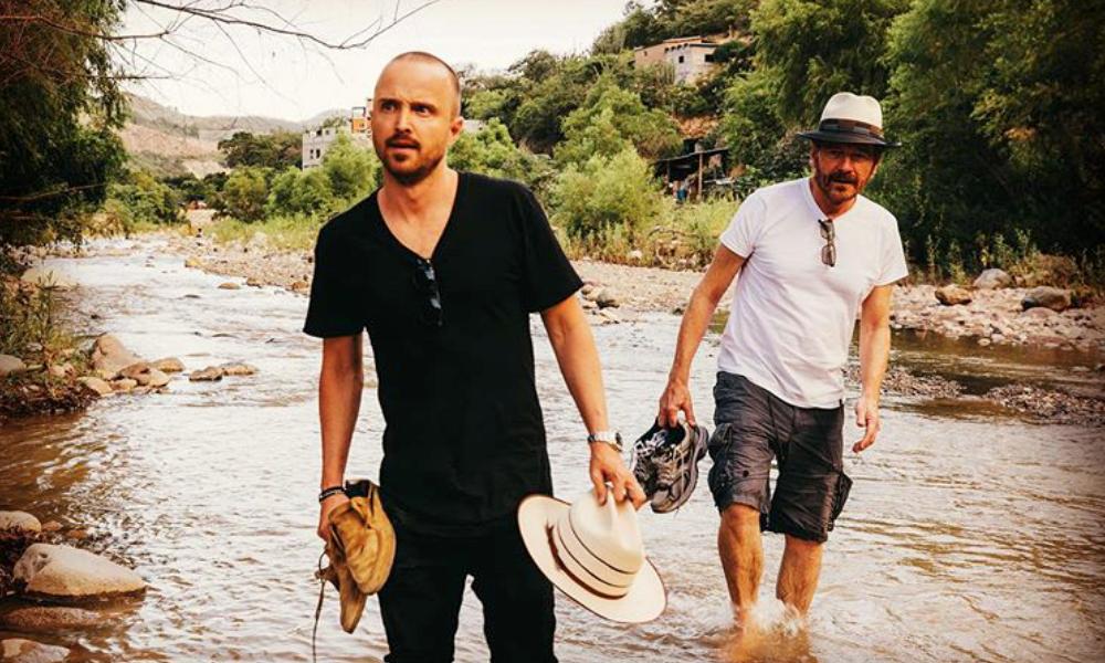 'Walter White' y 'Jesse' se reunieron en México