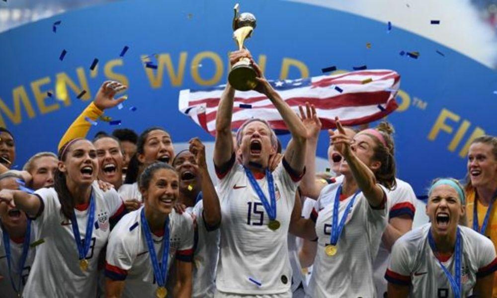felicitan a la Selección femenil de Estados Unidos