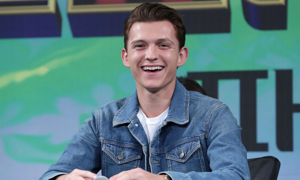 Fotos íntimas de Tom Holland