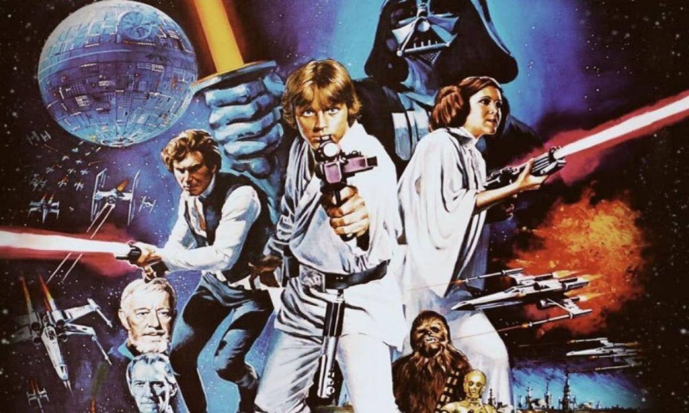 primer ensayo de Mark Hamill y Harrison Ford