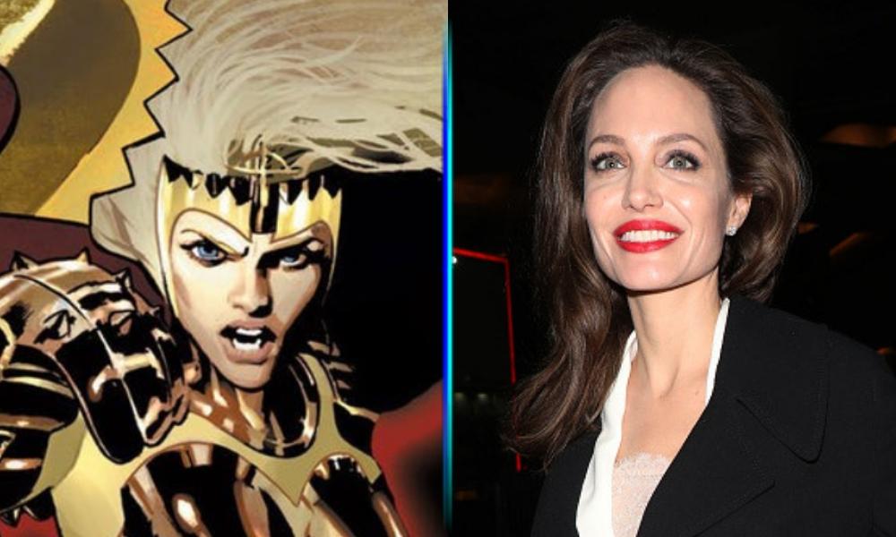 Angelina Jolie como 'Thena'