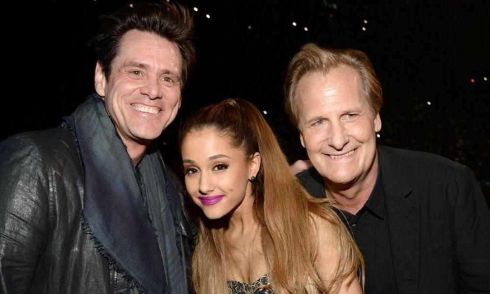 Ariana Grande actuará con Jim Carrey
