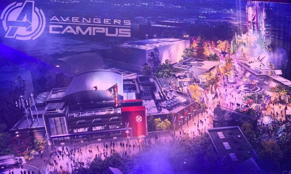 Avengers Campus: parque temático de Disney