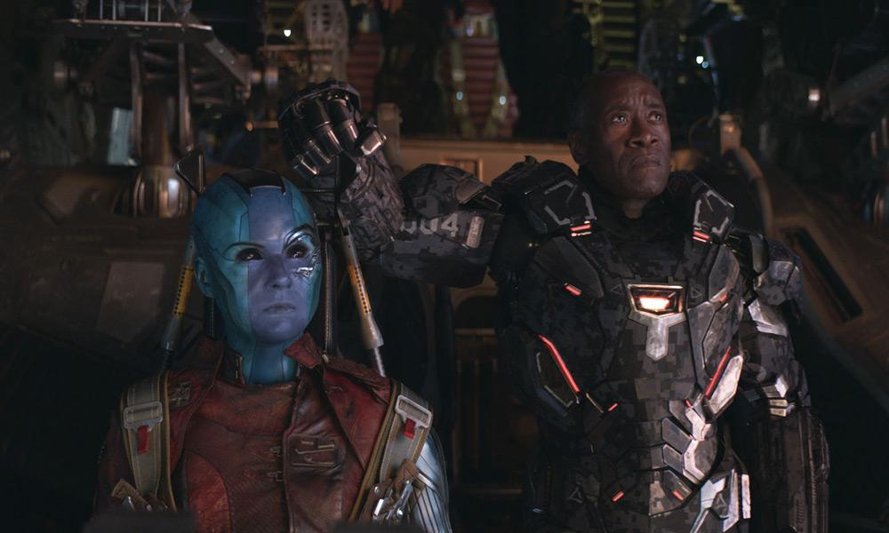 'Nebula' en 'Avengers: Endgame'