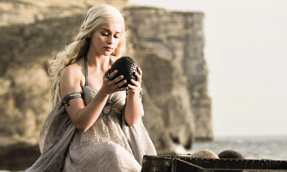 Dónde son los huevos de dragón en 'Game of Thrones'
