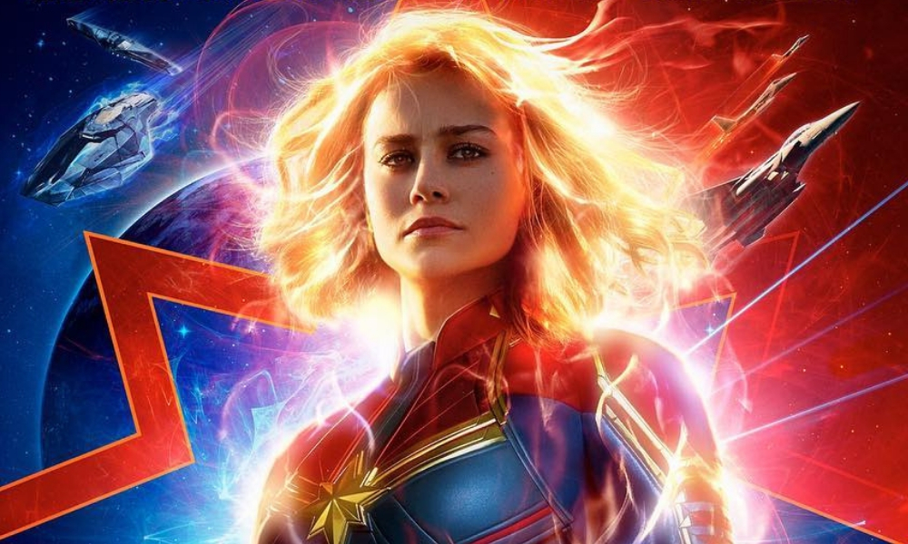 El cabello de Captain Marvel era falso en Endgame