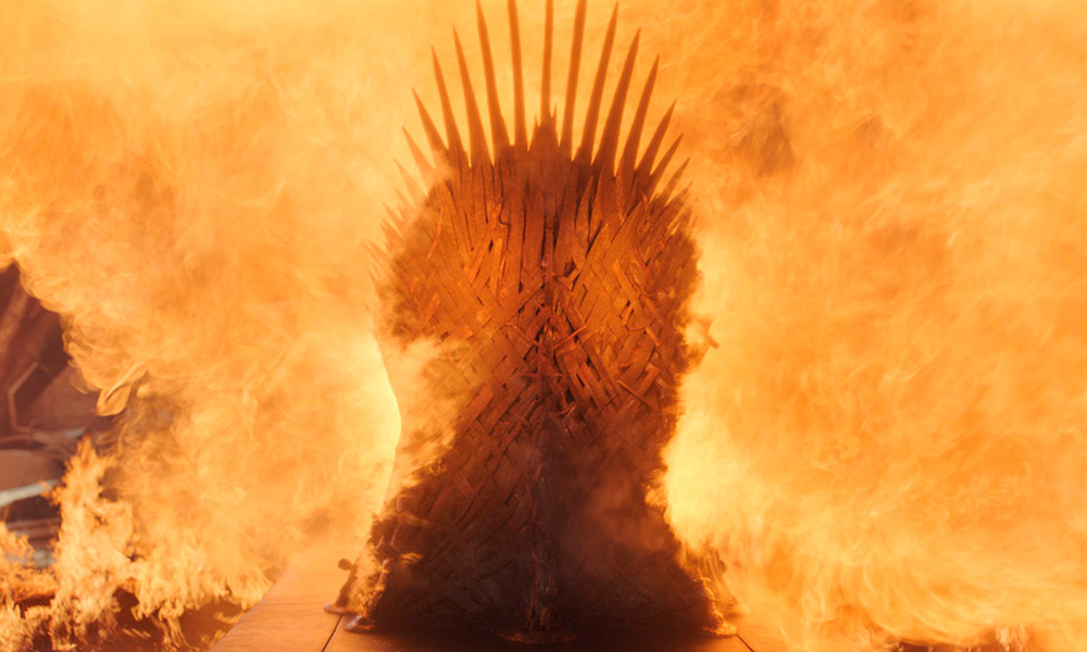 Por qué destruyen el 'Iron Throne'