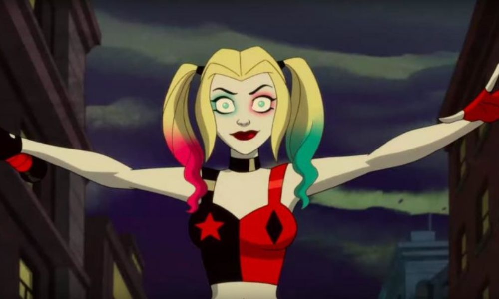 Kaley Cuoco como Harley Quinn