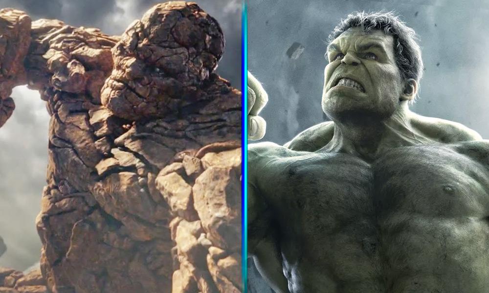 Quién es más fuerte entre Hulk o La Mole