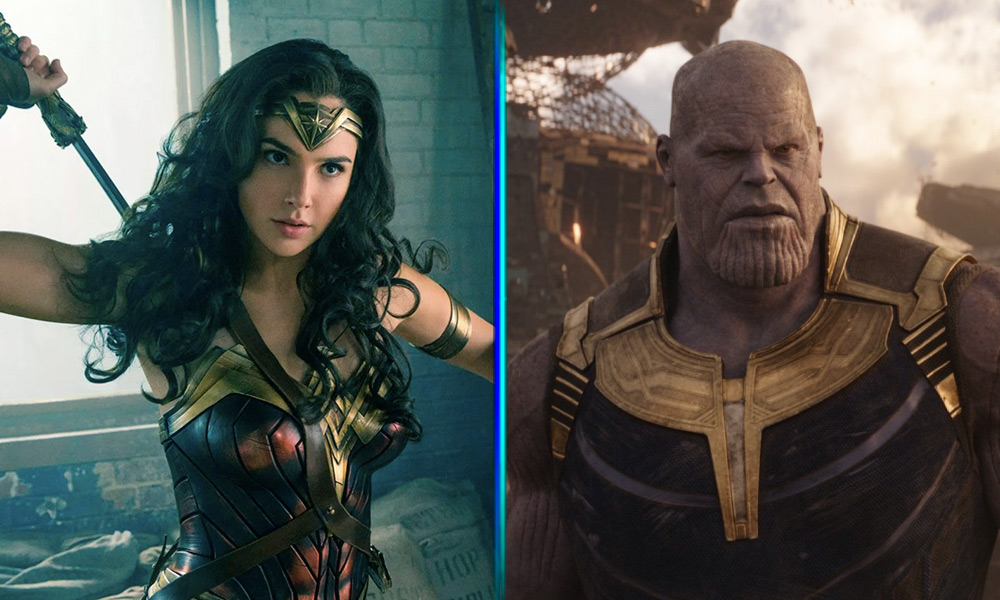 Triunfo de Wonder Woman sobre Thor