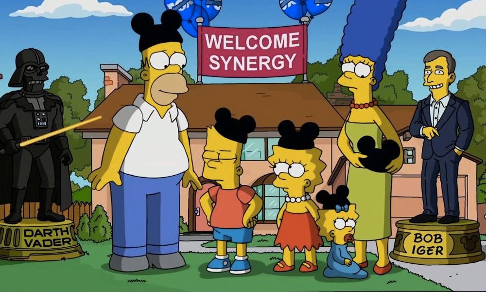 Llegada de 'The Simpsons' a Disney