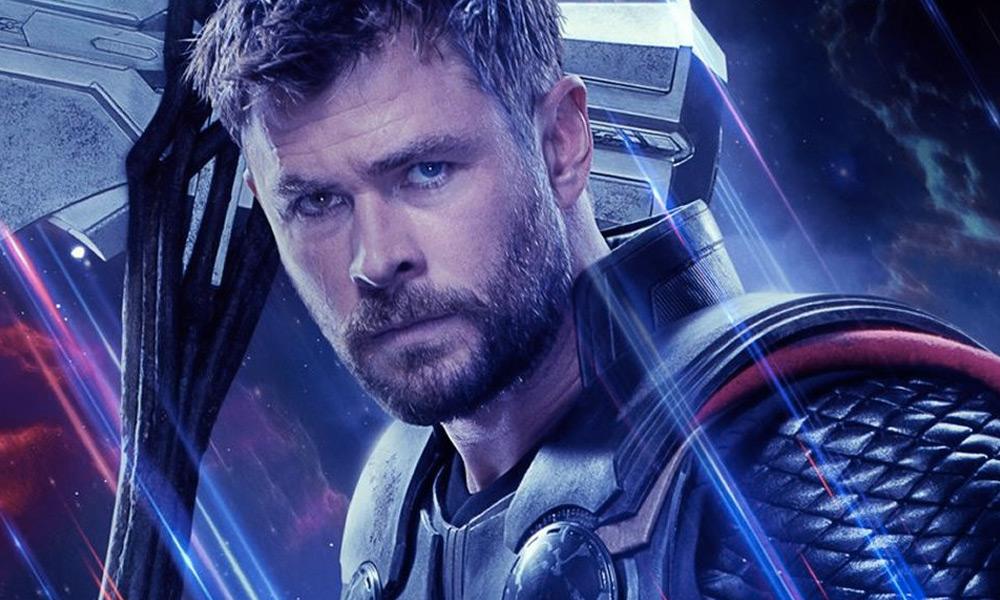 Thor en el póster de 'Guardians of the Galaxy 3'