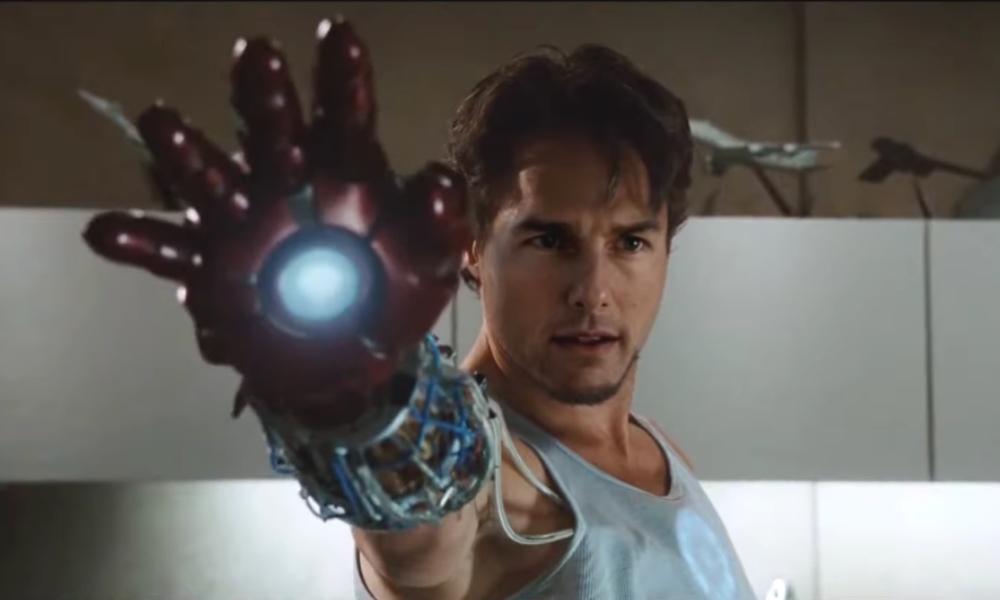 Tom Cruise es Iron Man