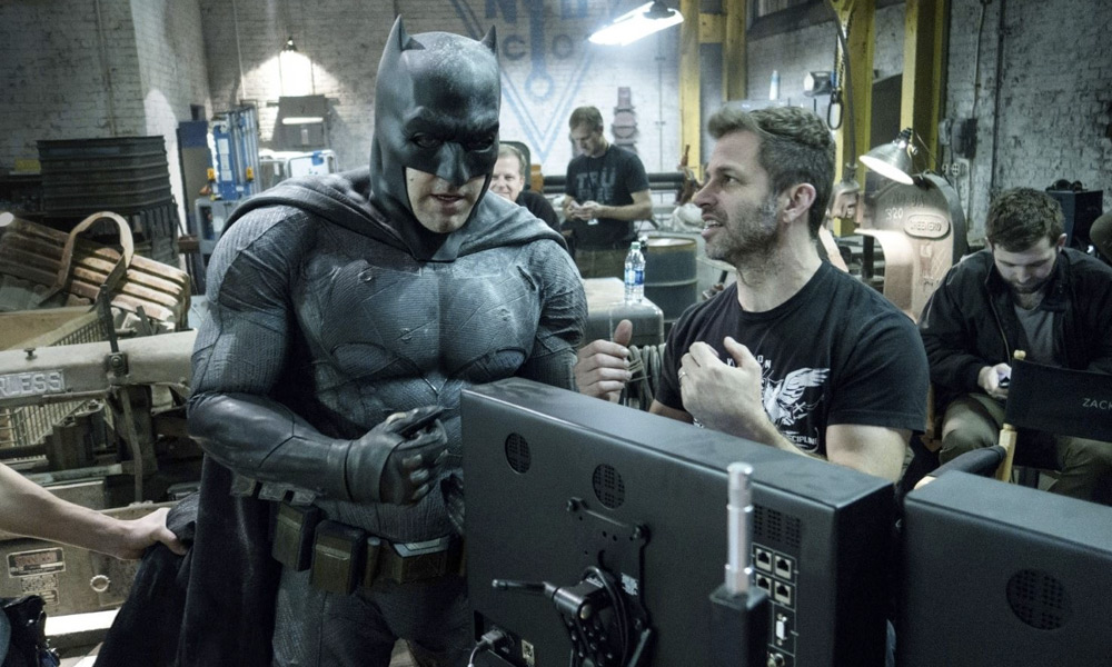 'Batman' de Zack Snyder para 'Justice League'