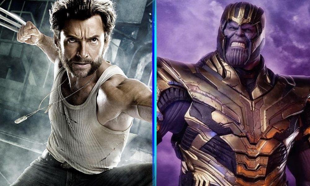batalla entre Thanos vs. Wolverine