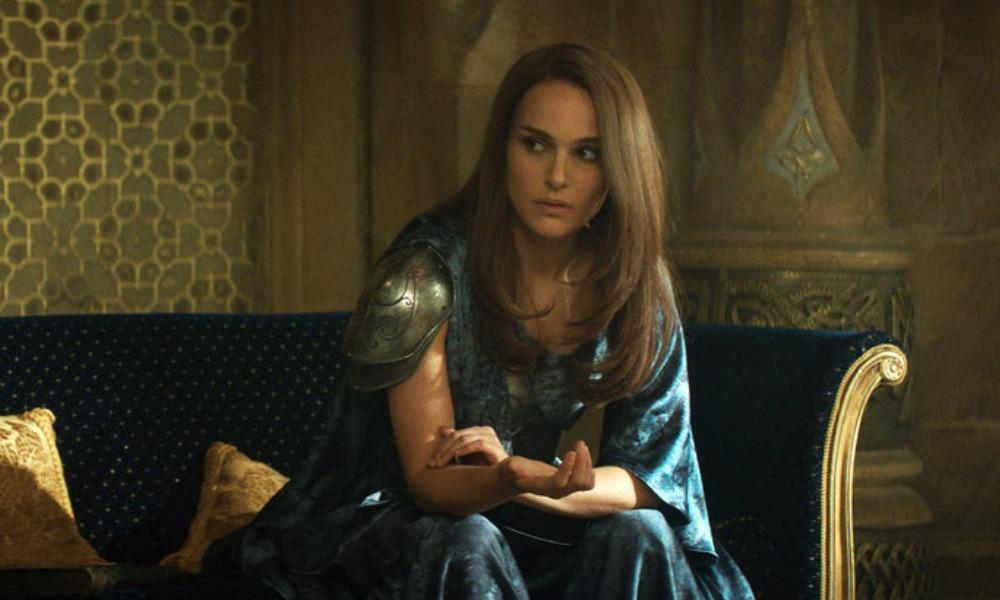 Natalie Portman como thor