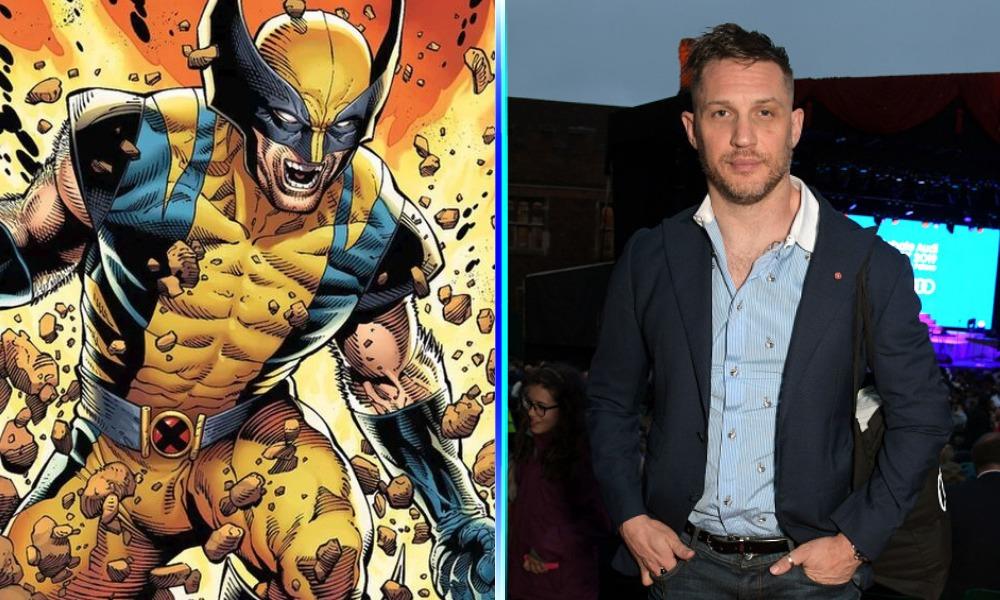 Tom Hardy como 'Wolverine'