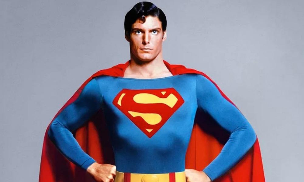 Christopher Reeve como Superman en 2019