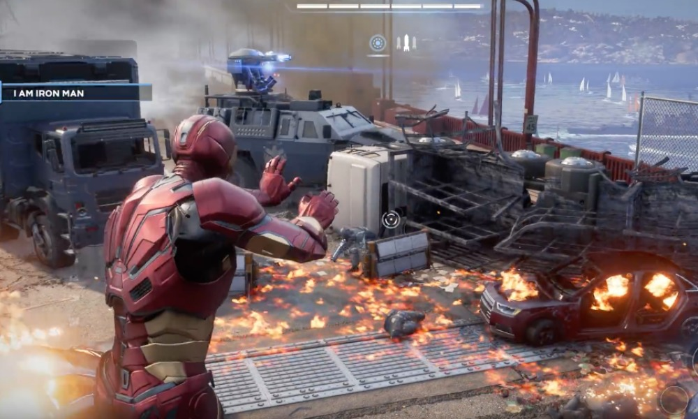 gameplay de 'Marvel's Avengers'