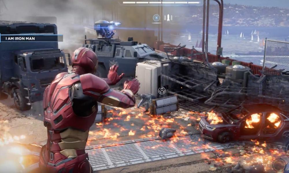 gameplay de 'Marvel's Avengers'
