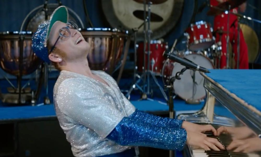 Taron Egerton aprendió a tocar el piano como Elton John