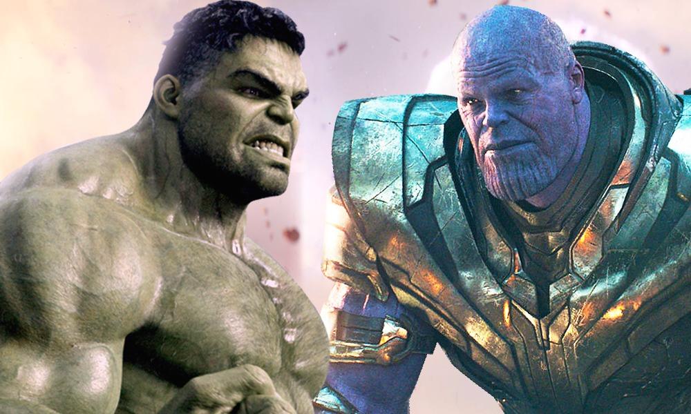 pelea entre Hulk y Thanos en 'Endgame'